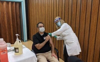 Memorial Administers First Doses of COVID-19 Vaccine
